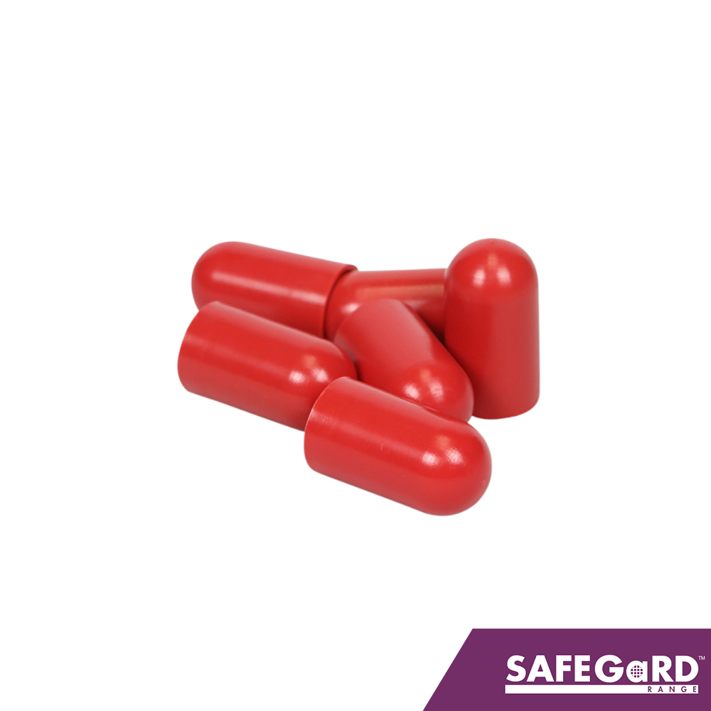 Scaffold Stud Bolt Caps Red 1000pk - Safegard