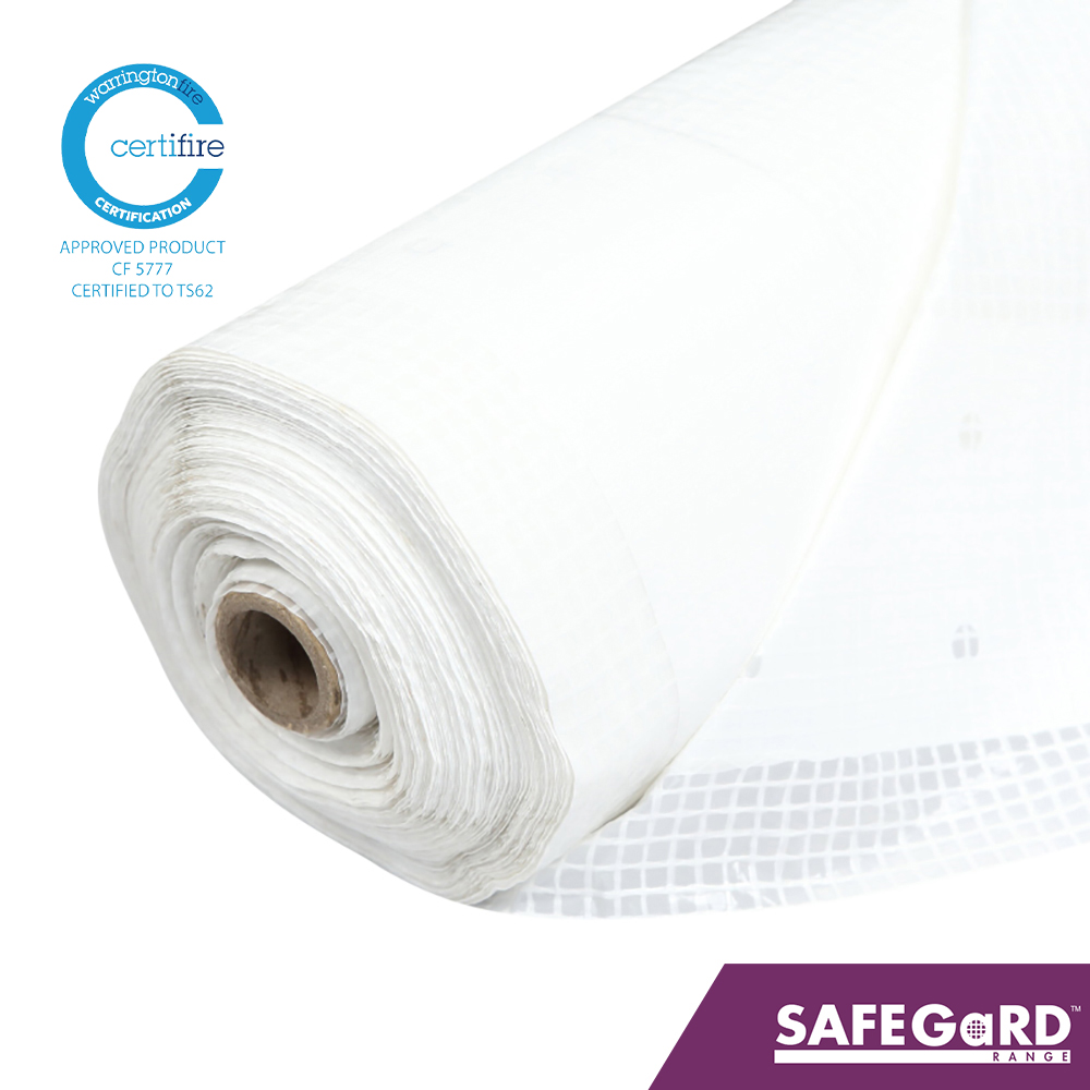Safegard CLASSIC Fire Retardant Scaffold Sheeting