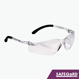 Safety Glasses with Wrap-around Lens