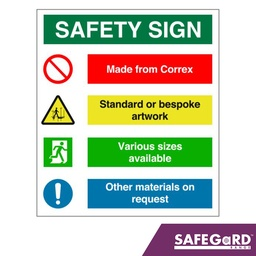 Safety Sign - Safegard