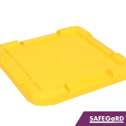 [S0116] Scaffold Foot Plate Yellow - Safegard